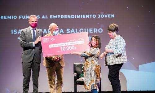 LADY ISABEL PREMIO FUNDOS AL EMPRENDIMIENTO JOVEN 2020