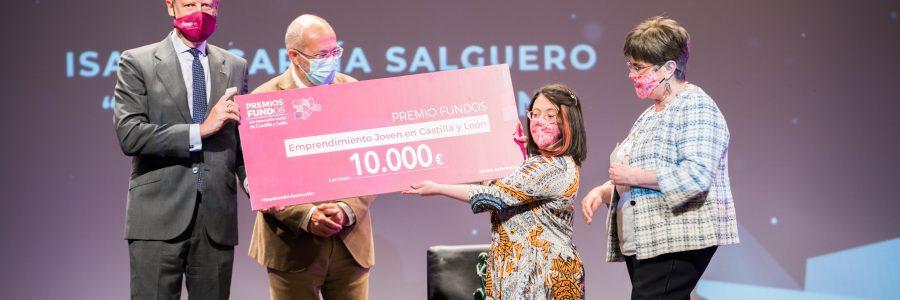 Lady Isabel recoge el Premio Fundos al emprendimiento joven